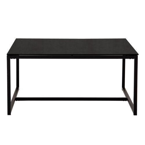 Pierre soffbord svart 100x100 cm | Ekeby Möbler
